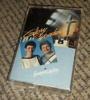 Sharon and Robin Glory Wonder album on cassette tape CHRISTIAN SOUTHERN GOSPEL