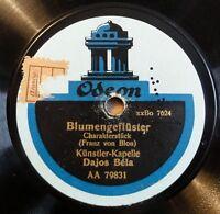 """Dajos Bela - Blumengeflüster - Heinzelmännchens - Odeon - /12"""" 78 RPM"""