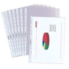 trasparenti Dohe 90585 formato A4 Confezione di 100 buste multiforo
