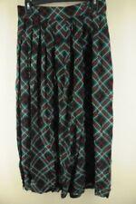 Ropa vintage de mujer verdes de rayón
