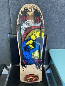 Santa Cruz Claus Grabke Reissue Skateboard Deck Used