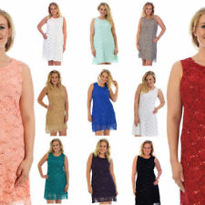 Flapper Midi Dresses for Women with Sequins