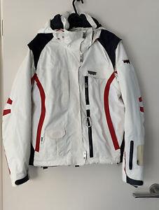 Helly Hansen Equipe Redline Snow Jacket White Womens Size S