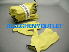 1 Pair 100% KEVLAR Cut Resistant HEAVY DUTY Work Filet Gloves Yellow Size XL
