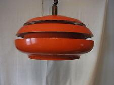Mid Century 60er 70er Lamellenlampe Kugel Lampe Danish Design  #<