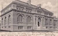 Antique POSTCARD c1905 Public Library NEW BRITAIN, CT 16574