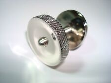 Western Electric candlestick telephone Nickle Plated Knurled nut assembly