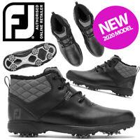 FootJoy Winter Waterproof Golf Boots Women's Ladies Black - NEW! 2020