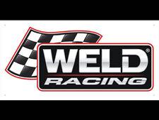 WELD Racing Engineering Performance Display Advertising Banner
