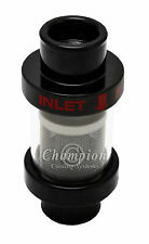 """Rockstar Champion Black In-Line Coolant Filter for 1 1/2"""" hose"""