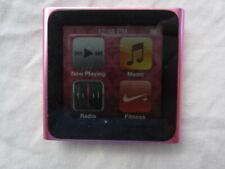 Apple iPod nano 8 GB 6th Generation Pink MC692LL With 537 songs
