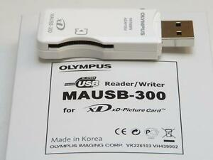 Olympus Original MAUSB-300 Portable XD-Card USB Reader/Writer