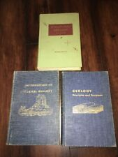 GEOLOGY BOOKS INTRO. TO HISTORICAL GEOLOGY & STRUCTURAL GEOLOGY
