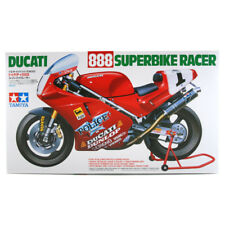 Tamiya Ducati 888 Superbike Racer Model Set (Scale 1:12) 14063 NEW