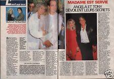 Coupure de presse Clipping 1989 Judith Light Tony Danza (2 pages)