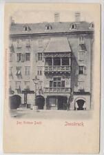 AK Innsbruck, Goldenes Dachl um 1900