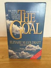 The Goal By Eliyahu M. Goldratt & Jeff Cox  On Cassette-Changing American Busine