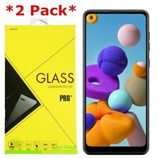 2-Pack Tempered Glass Screen Protector For Samsung Galaxy A21 / A21S