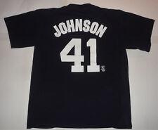 Vintage ORIGINAL 2005 NEW YORK YANKEES RANDY JOHNSON #41 MLB Jersey T SHIRT L