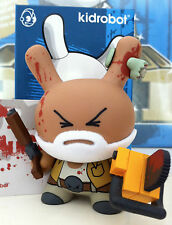 """DUNNY 3"""" 2011 SERIES HUCK GEE ZOMBIE HUNTER 1/200 CHASE CHAINSAW KIDROBOT TOY"""
