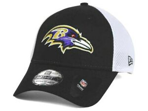 Baltimore Ravens New Era 39THIRTY NFL Men's Fitted Cap Hat - Size: S/M