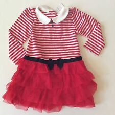 Red Olivia the Pig Dress 18-24 months