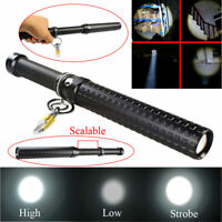 2000 Lumen Q5 LED Zoomable Baseball Bat Flashlight Security Torch Lamp NEW