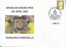 New listing 2003 FORMULA 1 BRAZILIAN GRAND PRIX COVER