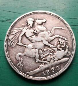 1892 Victorian 925 silver crown #618