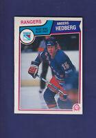 Anders Hedberg 1983-84 O-PEE-CHEE OPC Hockey #245 (EXMT+) New York Rangers