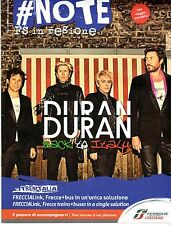 ITALIAN MAGAZINE NOTE: DURAN DURAN / SIMON LE BON / ROSSY DE PALMA / MAY 2016