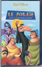 Le follie dell'imperatore (2000) VHS