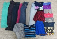 Girls Size 8 Justice & More Back To School Tops, Jeans, Dresses Lot