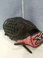 Mizuno Prospect Baseball Glove Finch Pink Trim details 10 inch left hand thrower