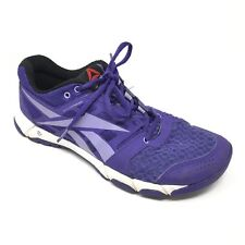 6c18385a32ebe Women s Reebok One Trainer 1.0 Shoes Sneakers Size 9 Cross Training Purple  T7