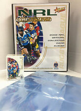 2002 NRL Challenge Trading Cards Base Set (182)+ Official Album + 21 Pages