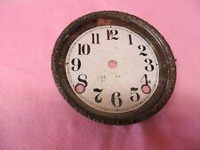 Sessions Black Mantle Clock Dial/Bezel