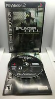 Splinter Cell - 1 - Complete - Good Cond. - Tested & Works - Playstation 2 PS2