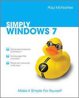 McFedries, Paul, Simply Windows 7, Very Good Book