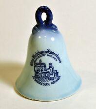 Vintage Das Dutchman Essenhaus Amish Country Kitchen Indiana Porcelain Bell