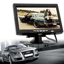 2-Channel 7 Inch TFT LCD Color Car Rear View Headrest Monitor DVD VCR Monitor BT