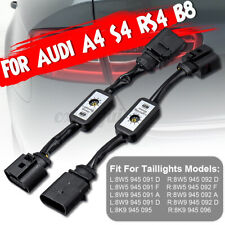 2pcs Dynamic Turn Signal Indicator LED Taillight Module For Audi A4 S4 RS4 B8 d
