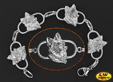 Bracelet Chien CHIHUAHUA - Bracelet CHUIHUAHUA DOG - Argent Massif 925/1000