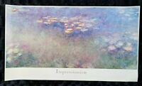 "Vintage 1989 St. Louis Art Museum ""Impressionism"" Print Poster"