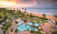 May 31-June 5 Wyndham Rio Mar Puerto Rico; 3 BEDROOM PRESIDENTIAL Margaritaville
