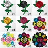 #3886R Rose Flower Love Heart Message Craft Embroidered Sew Iron on Patch Badge