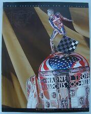 2002 Indianapolis 500 Program Helio Castroneves Marlboro Team Penske