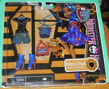 Monster High Robecca Steam Fashion Pack Dress Outfit Shoes Purse Mattel 2012 MIP