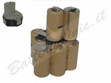 Batteria per trapano Makita 1233 12 V Ni-Mh 3000 mAh. kit AUTO INSTALLAZIONE