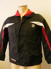 boys youth ZEROXPOSUR ski jacket coat snowboard XL10-12 BLACK HOODED clean ZX